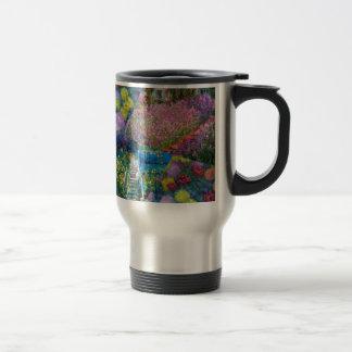 Flowers in Monet's garden are unique Travel Mug