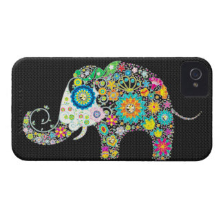 Flowers In Shape Of An Elephant iPhone 4 Covers