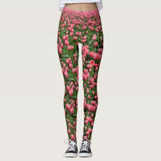 Flowers in the Garden Yoga Pants