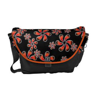 Flowers In The Night Courier Bag