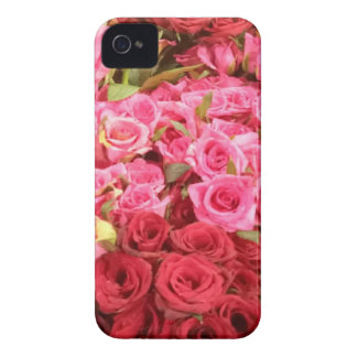 Flowers in the Philippines, pink and red roses iPhone 4 Covers