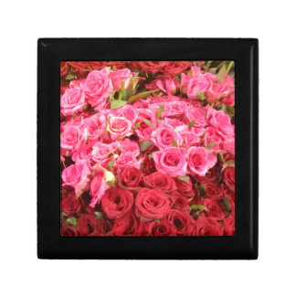 Flowers in the Philippines, pink and red roses Trinket Boxes