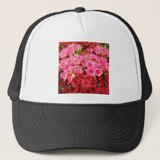 Flowers in the Philippines, pink and red roses Trucker Hat