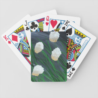 Flowers in the Storm Bicycle Playing Cards