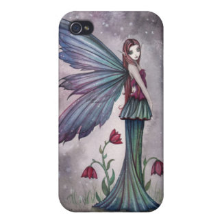 Flowers in Winter Fairy iPhone Case Cover For iPhone 4