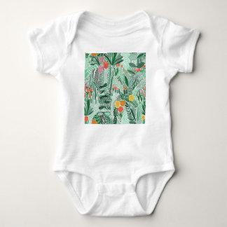 Flowers Indonesia ethno design Baby Bodysuit