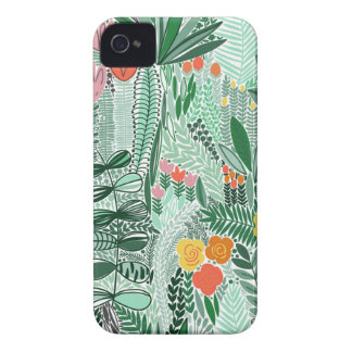 Flowers Indonesia ethno design iPhone 4 Cover
