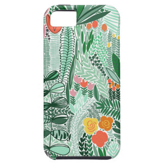 Flowers Indonesia ethno design iPhone 5 Case