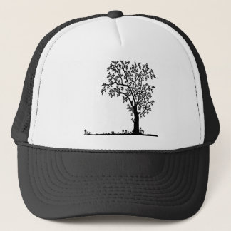 Flowers landscape nature plant trucker hat