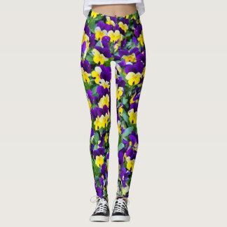 Flowers legginggs style leggings