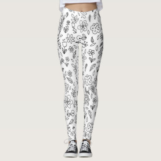 Flowers! Leggings