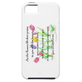 flowers lift their praise iPhone 5 covers