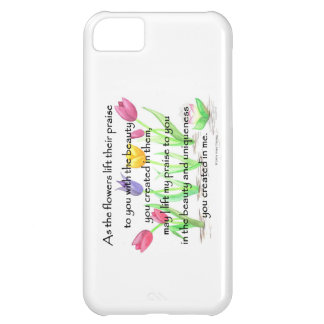 flowers lift their praise iPhone 5C cover