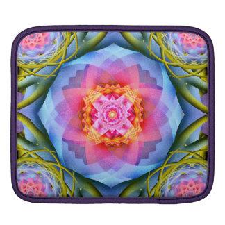 Flowers Mandala iPad Sleeve