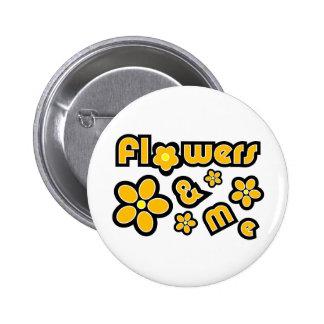 Flowers & Me Pins