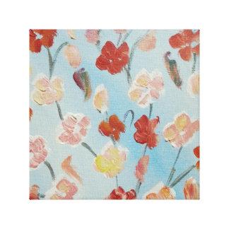 Flowers & Memories Canvas Print