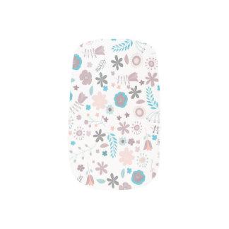 Flowers Minx Nail Art