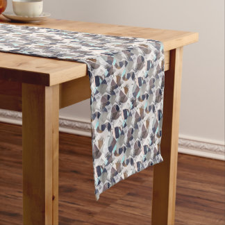Flowers mix max short table runner