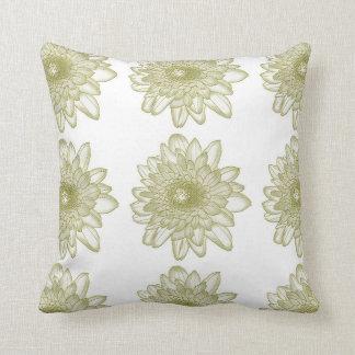 Flowers | Multi Flower Pattern Throw Pillow
