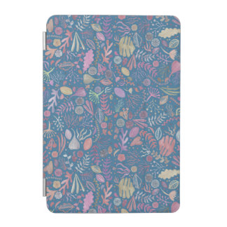 Flowers multicoloured smooth watercolors iPad mini cover