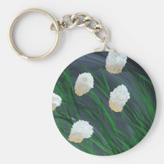 Flowers n a Storm Keychain