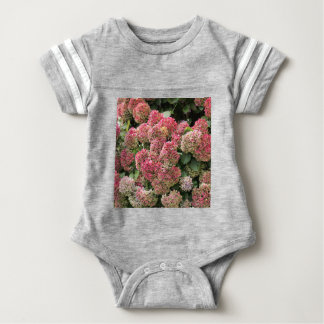 Flowers of a French hydrangea (Hydrangea macrophyl Baby Bodysuit