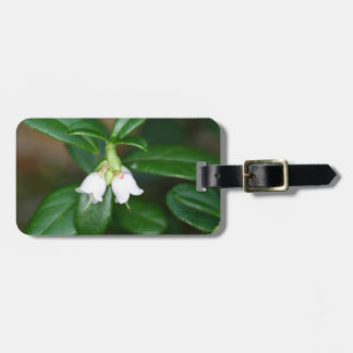 Flowers of a wild lingonberry (Vaccinium vitis-ide Bag Tag