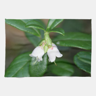 Flowers of a wild lingonberry (Vaccinium vitis-ide Towels