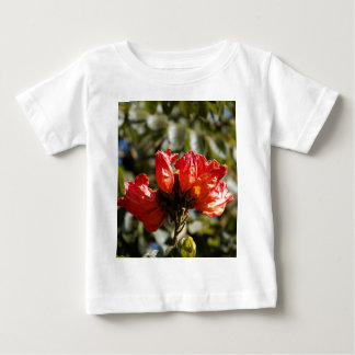 Flowers of an African tuliptree Baby T-Shirt