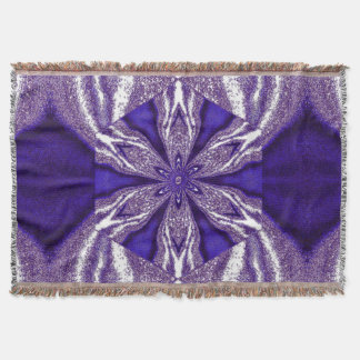 Flowers of Atlantis 112 SDL Throw Blanket