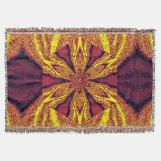 Flowers of Atlantis 115 SDL Throw Blanket