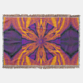 Flowers of Atlantis 120 SDL Throw Blanket