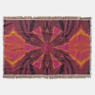 Flowers of Atlantis 32 SDL Throw Blanket