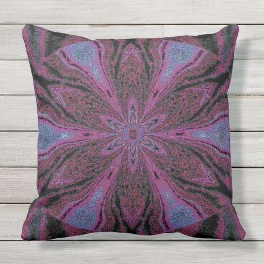 "Flowers of Atlantis 3 SDL Throw Pillow 20"" x 20"""