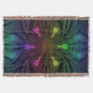 Flowers of Atlantis 82 SDL Throw Blanket
