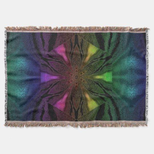 Flowers of Atlantis 82 SDL Throw Blanket