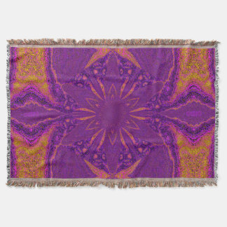 Flowers of Atlantis 83 SDL Throw Blanket