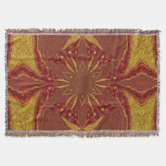 Flowers of Atlantis 85 SDL Throw Blanket