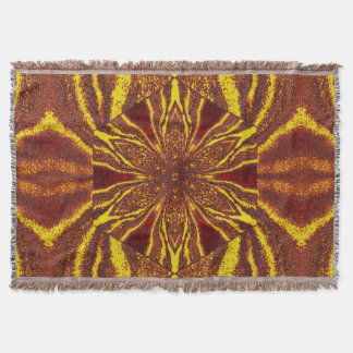 Flowers of Atlantis 88 SDL Throw Blanket