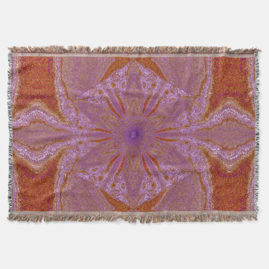 Flowers of Atlantis 91 SDL Throw Blanket