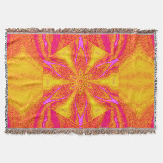 Flowers of Atlantis 95 SDL Throw Blanket