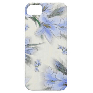 Flowers of Blue iPhone 5 Covers
