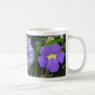 Flowers of Costa Rica - Blue Coffee Mug