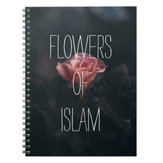 flowers of islam notebook muslimah islamic gift
