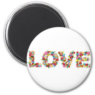 flowers of love magnet
