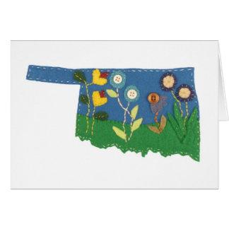 Flowers of Oklahoma 1 Card