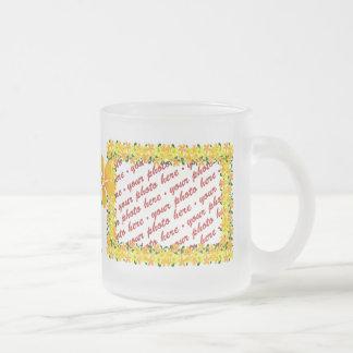 Flowers of Orange & Yellow Frame Mug