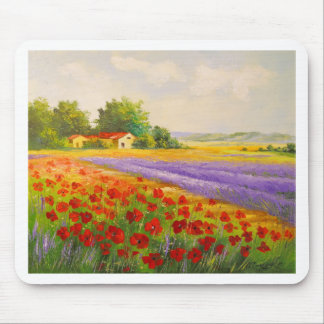 Flowers of Provence Mouse Pad