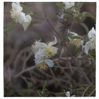 Flowers of Traveller Joy (Clematis brachiata) Napkin
