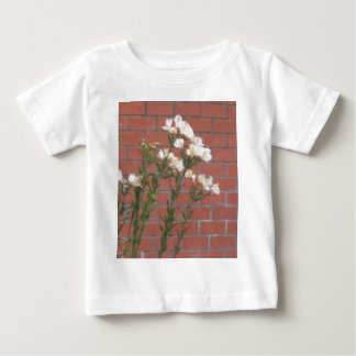 Flowers on Brick Baby T-Shirt